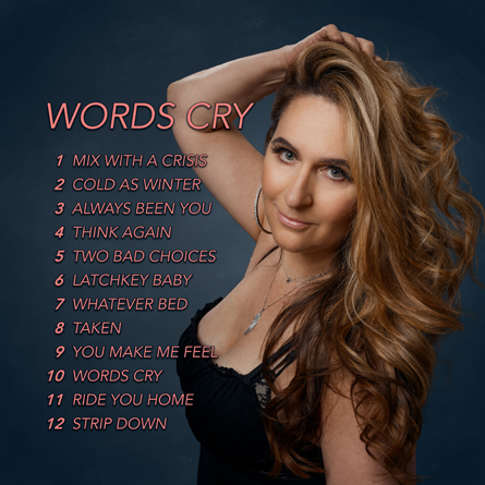 Words Cry Track List